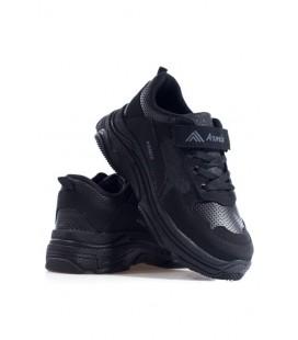Armix Yüksek Taban Günlük Rahat Siyah Unisex Spor Ayakkabı