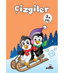 Çizgiler 3+ Yaş - Deniz Gökmeriç - Beyaz Panda Yayınları
