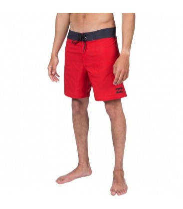 Billabong All Day X Short 17 Erkek Kırmızı Şort Mayo W1BS23