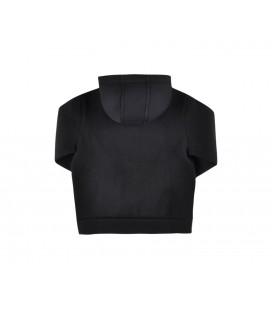 Bikkembergs Kapşonlu Erkek Çocuk Siyah S-Shirt