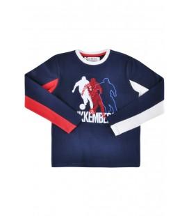 Bikkembergs Lacivert Erkek Çocuk T-shirt 3232DJMTE51
