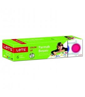 Lets Parmak Boyası 25Ml 6 Renk L5500