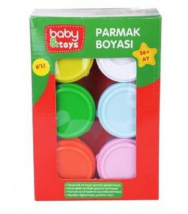 baby&toys parmak boyası 6Lı