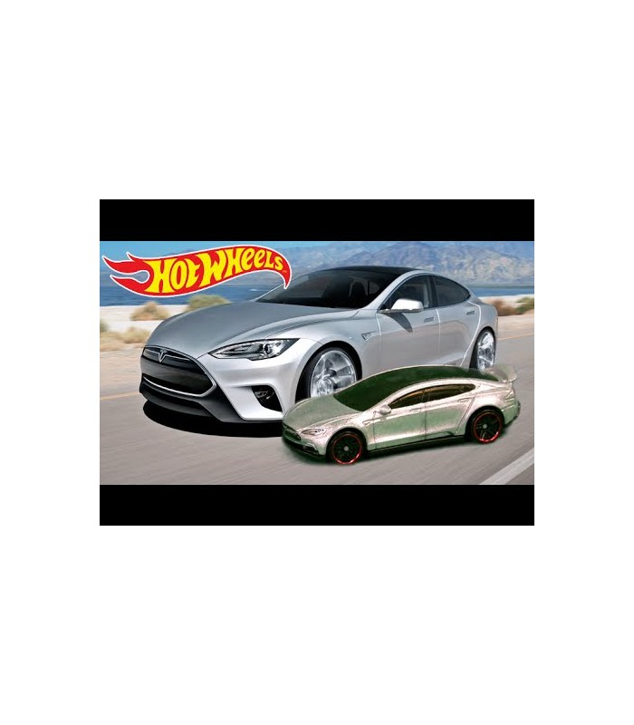 Hot Wheels Tesla Model S Tekli Araba 5785 Gumruk Deposu