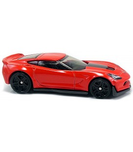 Hot Wheels Corvette C7 Z06 Tekli Araba DVB41-D6B7