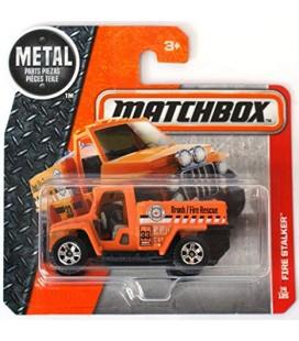 Matchbox Cars Oyuncak İtfaiye Arabası - 74/125 Heroic Orange Fire Stalker Brush Fire