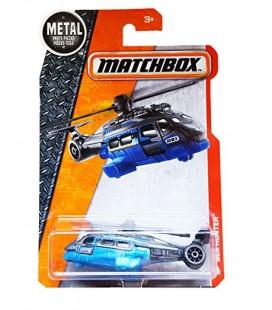 Matchbox Oyuncak Helikopter - Sea Hunter 63/125 Blue