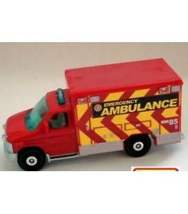 Matchbox Oyuncak Ambulans 2016 Ford F-350 Ambulance 77/125, Red