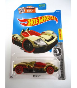 Hot Wheels Oyuncak Araba Teeray 36/250 Super Chromes