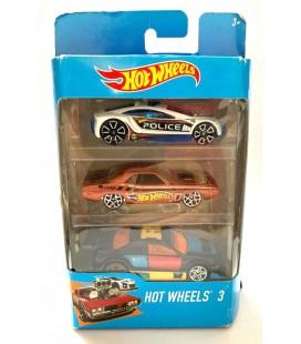 Hot Wheels 3'lü Oyuncak Araba K5904