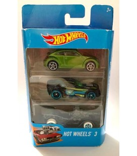 Hot Wheels Oyuncak Araba 3'lü Oyuncak Araba K5904