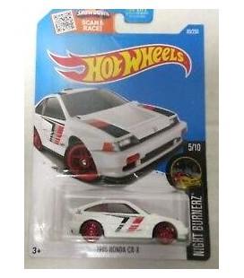 Hot Wheels Oyuncak Araba 2016 Night Burnerz 1985 Honda CR-X 85/250, White