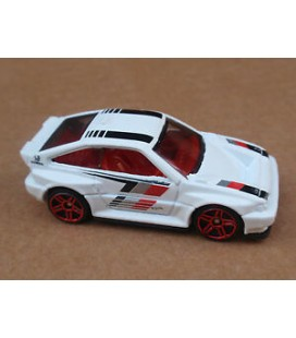 Hot Wheels Oyuncak Araba 2016 Night Burnerz 1985 Honda CR-X 85/250, White