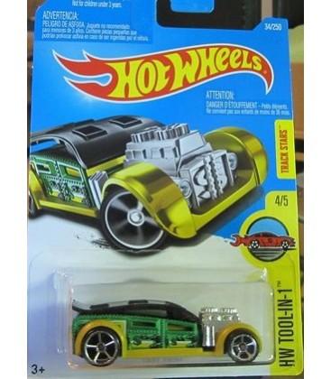 Hot Wheels, Oyuncak Araba 2016 HW Tool-In-1, Green 34/250 By Fast Cash