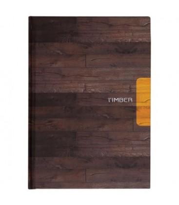 Keskin Color Timber 20x28 120 Yp.Düz Sert Kp.Spiralli Defter - 410670-99