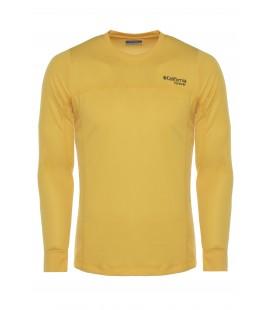California Forever Erkek Sweatshirt, Sarı, AV99015-1355