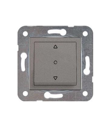 Viko Artline Novella Trenda Antrasit Tek Düğmeli Jaluzi Düğme 92005372