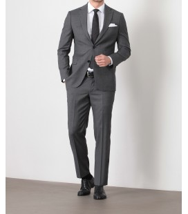 Ramsey Milano Antrasit Desenli Dokuma Takım Elbise