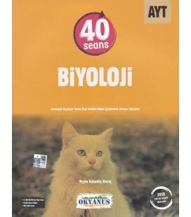 AYT 40 Seans Biyoloji Soru Bankası - Okyanus Yayınları