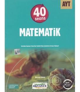 AYT 40 Seans Matematik Soru Bankası - Okyanus Yayınları