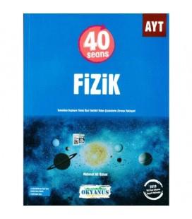 AYT 40 Seans Fizik Soru Bankası - Okyanus Yayınları