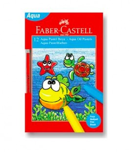 Faber Castell Aqua Sulu Pastel Boya 12 Renk