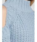 Koton Kadın Örgü Kazak Mavi 8KAF90061GT605