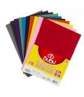 Bubu Yapışkanlı Keçe Kağıdı A4 10 Renk 20 x 30 Cm