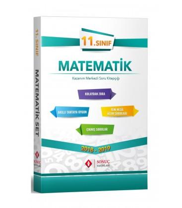 Sonuç Yayınları 11. Sınıf Matematik Kazanım Merkezli Soru Bankası Seti