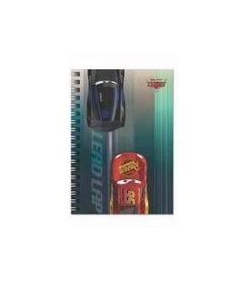 Keskin Color A6 Bloknot Spiralli Metalize Çizgili 80 Yaprak Cars 140400-33