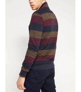 Defacto Erkek Yakası Kürklü Sweatshirt G1817