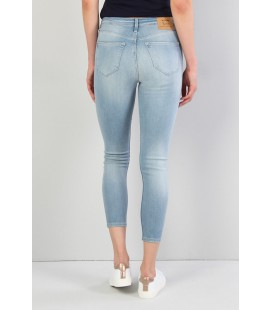 Colin's Kadın 760 Diana Dar Kesim Yüksek Bel Dar Paça Mavi Jean Pantolon CL1036457