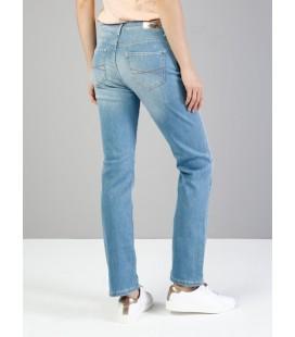 Colin's Kadın 792 Mila Normal Kesim Orta Bel Düz Paça Mavi Jean Pantolon CL1036017