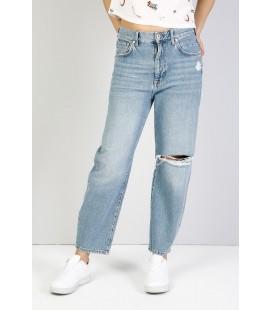 Colin's Kadın 710 Sonya Normal Kesim Düşük Bel Kısa Paça Mavi Jean Pantolon CL1036493