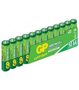 GP Batteries GP15G Greencell R6P/1215/AA Kalem Pil, 1.5 Volt