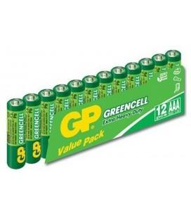 GP 12'li Greencell AAA Boy İnce Çinko Karbon Pil GP24G VS12
