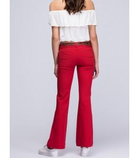 Loft Kadın Pantolon Kırmızı LFBWNWPNT0321200