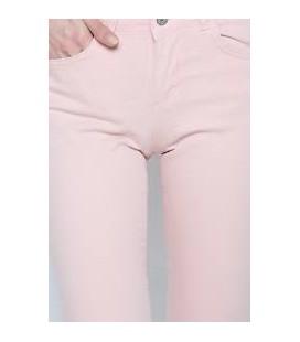 Polo Garage Pudra Kadın Kot Pantolon Katlanmış Paça 4003