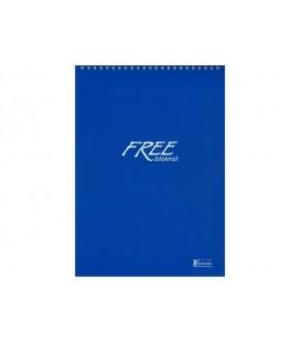 Keskin Color A4 100 Yaprak Bloknot Spiralli Free Office Düz Çizgisiz 145000-99