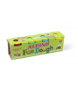 Alpino Oyun Hamuru 4'lü 130gr