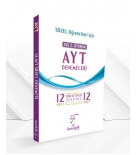 AYT Sözel 12 li Denemeleri - Karekök Yayınları