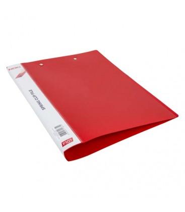 Noki Çift Sıkıştırmalı Kırmızı Dosya F107