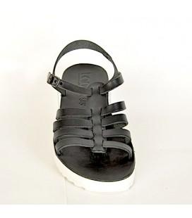 Kemal Tanca Kadın Sandalet 468 8003 Siyah Bayan Sandalet