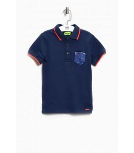 B&G Store Erkek Çocuk Lacivert Polo T-Shirt 3838NBN3525