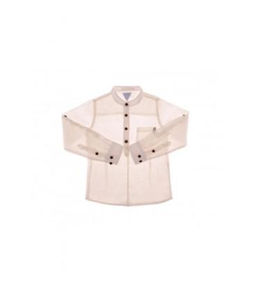 B&G Store Erkek Çocuk Ekru Gömlek 3838ROF3606