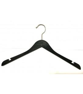 Elbise Askısı Bükülmez Plastik Siyah