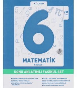 6. Sınıf Matematik Konu Anlatım Fasikül Set - Bilfen Yayınları