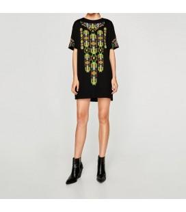 Zara Kadın Siyah Elbise 5039/287/800