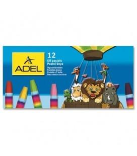 Adel Karton Kutu Pastel Boya 12 Renk 4280837000