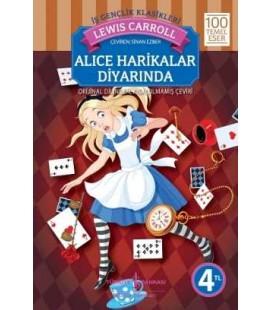 Alice Harikalar Diyarında - Lewis Carroll - İş bankası Yayınları